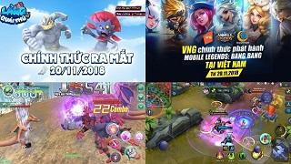 Hai tựa game mobile sẽ công phá làng game Việt hôm nay
