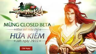 Playpark tặng 300 Giftcode Anh Hùng mừng Thanh Minh Kiếm Closed Beta