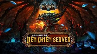 Huyền Thoại Heroes III - Khẳng định đẳng cấp cùng bản Update 3.0 'Liên Chiến Server'