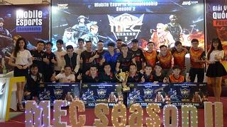 MEC – giải đấu esports tạo nên thương hiệu riêng của Phục Kích Mobile