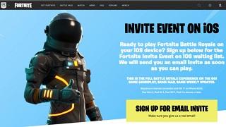 Fortnite: Battle Royale đã cho người chơi trải nghiệm trên iOS