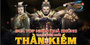 Ngọa Long tung ưu đãi đặc biệt cho server Thần Kiếm