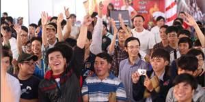 Ngày Hội Game Thủ 2014 đông nghịt đến không có chỗ đứng