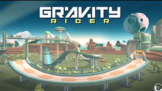 Gravity Rider: Power Run - tựa game đua xe 3D độc đáo vừa đổ bộ mobile