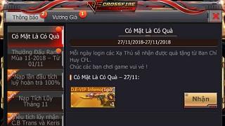 CrossFire Legends: Nhận ngay vũ khí VIP với giá cực ưu đãi nhân dịp đón chào tháng 12