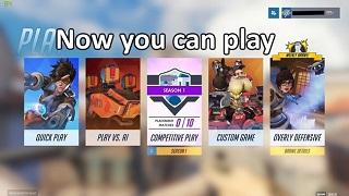 Overwatch - Những lời khuyên nên đọc trước khi chơi chế độ Competitive