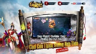 Cửu Thiên Phong Thần tung teaser ấn định ngày mở cửa