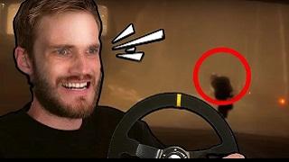 Game đua xe kinh dị mới khiến PewDiePie khóc thét