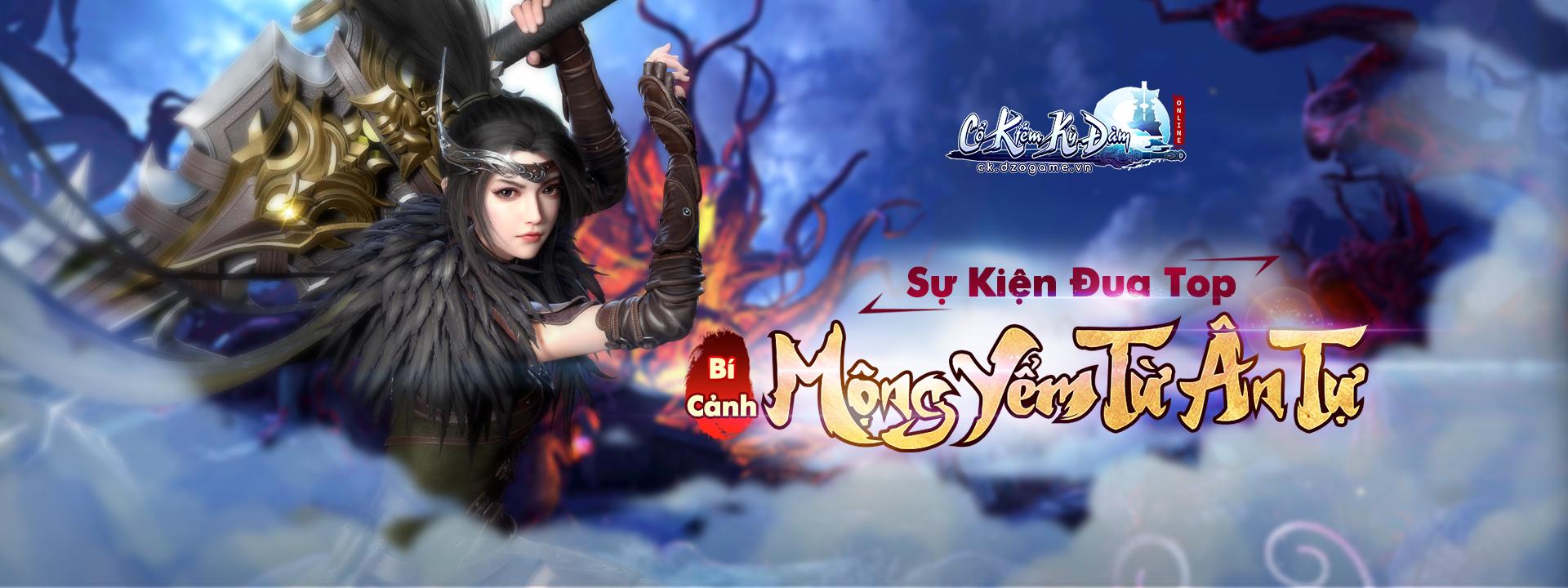 banner top CHINH PHỤC MỘNG YỂM TỪ ÂN TỰ
