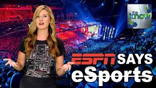 Tại sao ESPN lại lấn sân sang lĩnh vực eSports?