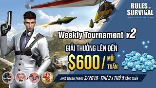 ROSM Weekly Tournament với nhiều thay đổi hấp dẫn từ hôm nay