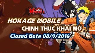 Hokage Mobile chuẩn bị Closed Beta không reset nhân vật