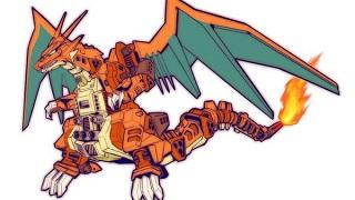 Chiêm ngưỡng bộ ảnh khi Pokemon kết hợp người máy Transformer siêu 'chất'