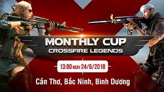 Thi đấu CFL Monthly Cup tại Bắc Ninh, Cần Thơ, Bình Dương nhận quà hot