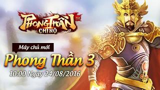 Playpark tặng 200 Giftcode game Phong Thần Chi Nộ