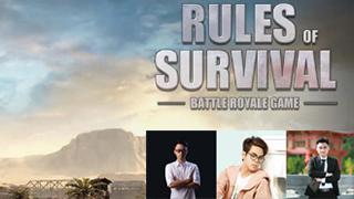Khi hot streamer Pubg, Minecraft quẩy nhiệt tình với Rules of Survival