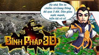 Trải nghiệm game mobile Binh Pháp 3D trong ngày mở cửa đầu tiên