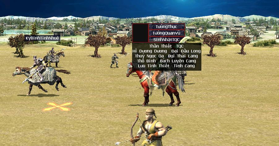 Chư vị Anh Hùng hãy tiêu diệt Tướng Quan Vũ để nhận được chữ TQC
