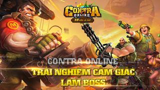 Contra Online - Khi game thủ lần đầu làm boss