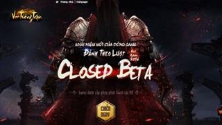 10h00 ngày 20/12 Vạn Tướng Trận chính thức Close Beta