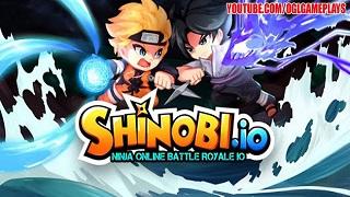Shinobi.IO – Tham gia vào những trận chiến Ninja bất tận trên di động