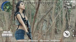 """Châu Thiên Kim khoe tài """"dùng súng"""" khiến Lê Dương Bảo Lâm mê mệt"""