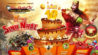 Loa Loa Loa: Tam Quốc Chí mừng sinh nhật 10 tuổi cực lớn