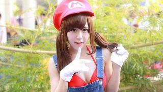 """""""Xịt máu mũi"""" với cosplay Mario phiên bản nữ cực sexy"""
