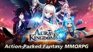 Bom tấn Aura Kingdom Mobile vừa chính thức đến tay game thủ toàn cầu