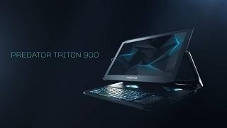 Acer ra mắt Predator Triton 900: chiếc gaming laptop 2 trong 1 cực độc với màn hình xoay lật