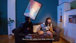 Mạc Văn Khoa bày trò cho Trang Hí cực hài trong ROS mobile
