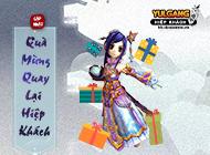 Yulgang Hiệp Khách Dzogame VN - Quà mừng quay lại Giang Hồ - 05122019