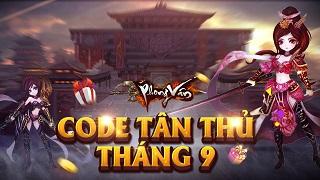 Playpark tặng 300 Giftcode game Phong Vân Vô Song