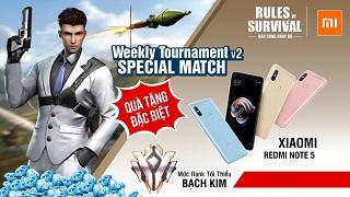 Rinh ngay Redmi Note 5 khi tham gia ROS Mobile Weekly Tournament ngày mai