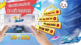 Playpark tặng 100 Giftcode game Tiên Kiếm Truyền Kỳ