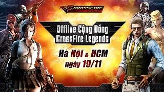 Xạ thủ CFL Hà Nội và TP Hồ Chí Minh tham gia offline 19/11 nhận áo thun và VIP code