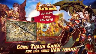 Game mobile Loạn Chiến Sa Thành chính thức mở cửa vào chiều nay