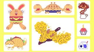 Phát thèm với bộ sưu tập Pokémon phiên bản... đồ ăn