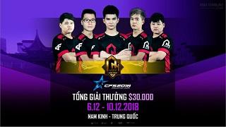 AHIHI chính thức đại diện Việt Nam tham dự giải đấu quốc tế CrossFire Stars 2018 tại Nam Kinh, Trung Quốc