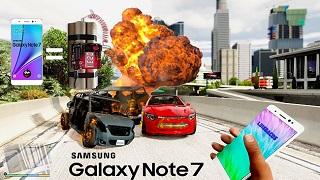 Chết cười với bản mod GTA V có sự xuất hiện của bom Samsung Galaxy Note 7