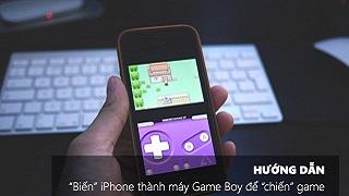 Hô biến iPhone thành Game Boy trong vài nốt nhạc