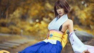 Cosplay Yuna đầy gợi cảm trong Final Fantasy X