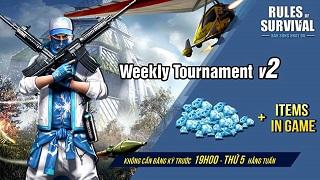 19h tối nay có gì hot? Nhanh tay nhận những phần thưởng giá trị cùng ROS Weekly Tournament