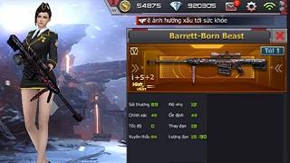 CFL – Cơ hội sở hữu vĩnh viễn Barrett Born Beast và D.E Born Beast