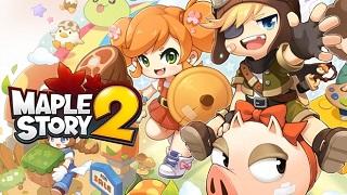 """Huyền thoại """"nấm lùn"""" Maplestory 2 chính thức ra mắt bản chơi thử"""