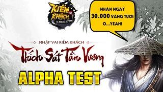 Webgame Kiếm Khách VNG mở Alpha Test vào 10h00 ngày 27/3