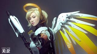 Mất máu vì bộ ảnh Cosplay tuyệt vời của Mercy