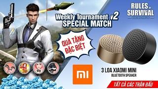 Rinh ngay Loa Xiaomi Mini khi tham chiến ROS Mobile Weekly Tournament tối nay