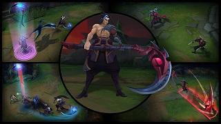 LMHT: Thông tin chi tiết bộ kĩ năng của vị tướng mới Kayn - The Shadow Reaper