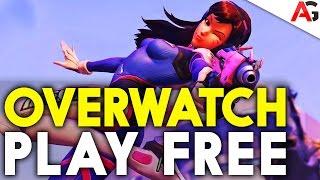 Game thủ sẽ được chơi Overwatch hoàn toàn miễn phí vào tuần sau